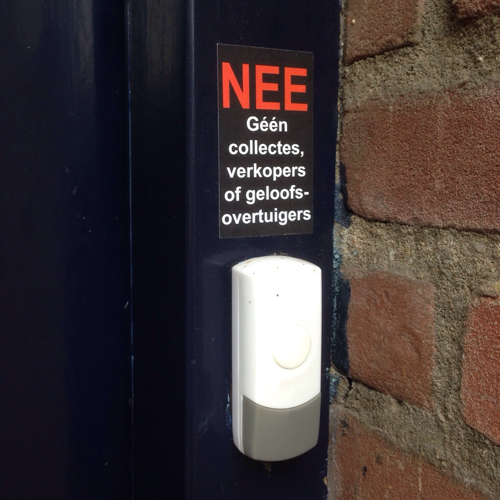 NEE NEE NEE sticker