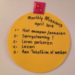 Webkims Monthly Mission – april '15