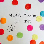 Webkims Monthly Mission – juli '15