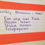Webkims Monthly Mission – maart '15