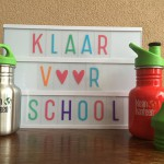 Jongensproof schoolbekers